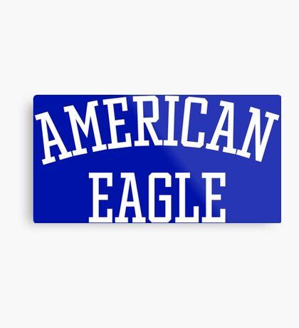 American Eagle (White) Metal Print