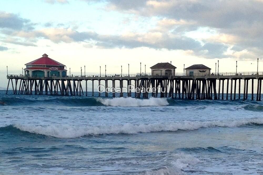 Huntington Beach Pier von OceanPeaceful