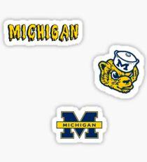 University of Michigan Minis Sticker