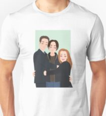 The X-Files - Mulder, Scully and William Unisex T-Shirt