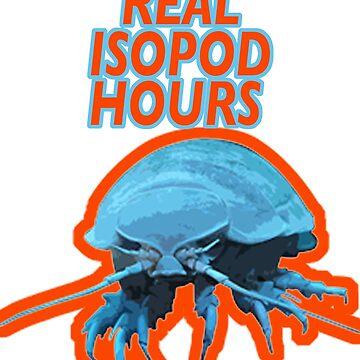 REAL ISOPOD HOURS by ben-wut