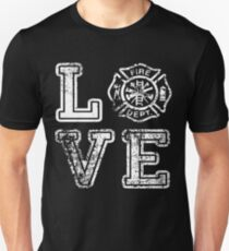 Firefigher Love Funny limited  magazine tshirt Unisex T-Shirt