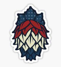Patriotic Hops (Craft Beer Yo) Sticker