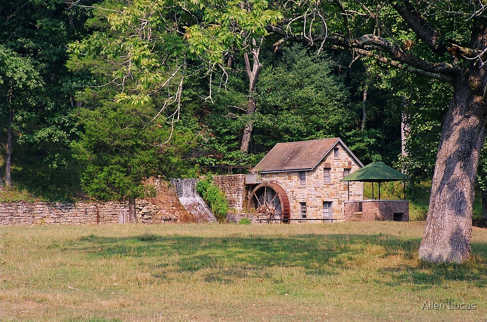 Liberty Furnace, West Virginia Historic Mill by Allen Lucas