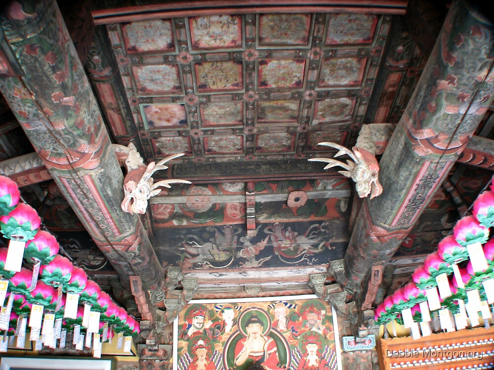 A 600 year old Buddist temple building by Debbie Montgomery