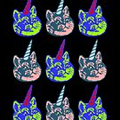 Unicorns Kittycorns Caticorns  by electrovista