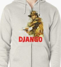 Django - The One and Only Zipped Hoodie