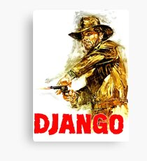 Django - The One and Only Canvas Print