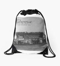 Poteau, Oklahoma: Early Days Drawstring Bag