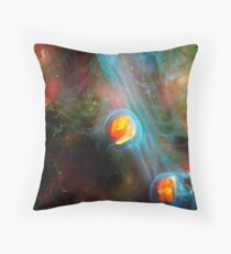 Ghosts 2 Throw Pillow