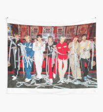 bts takes on LA Wall Tapestry