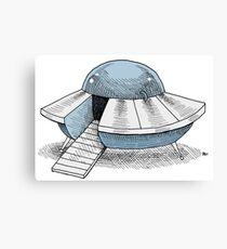 UFO cruiser model FZ120 Canvas Print