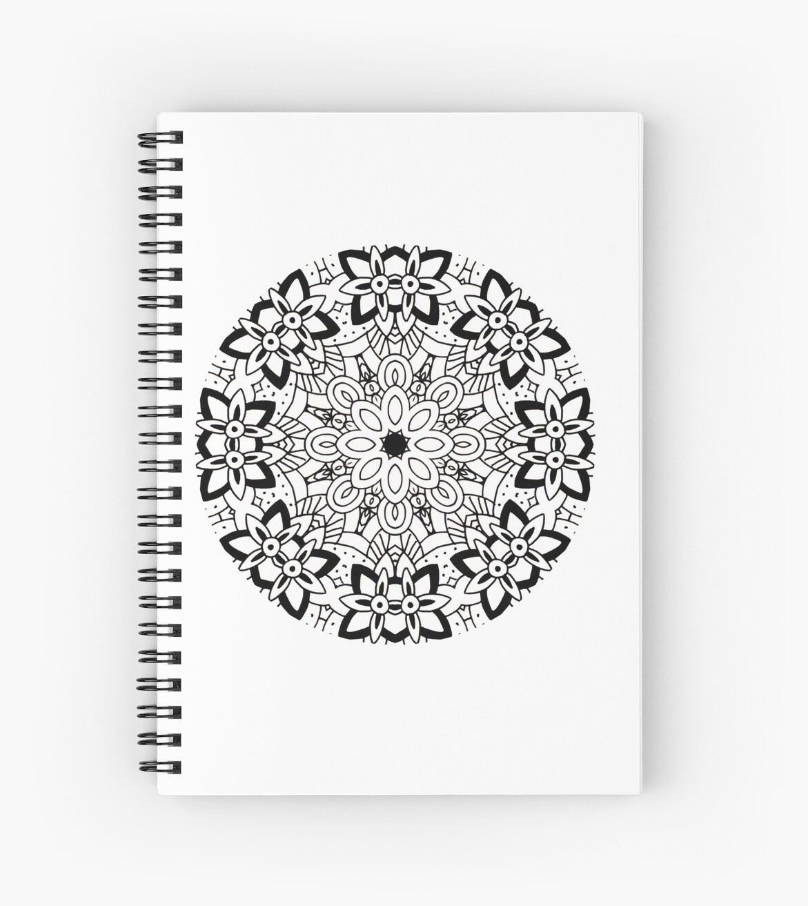 Diy Mandala Coloring Pattern Color Your World Create Your Own