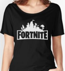 Fortnite Logo Women's Relaxed Fit T-Shirt