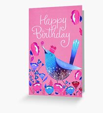 Celebration Bird Greeting Card