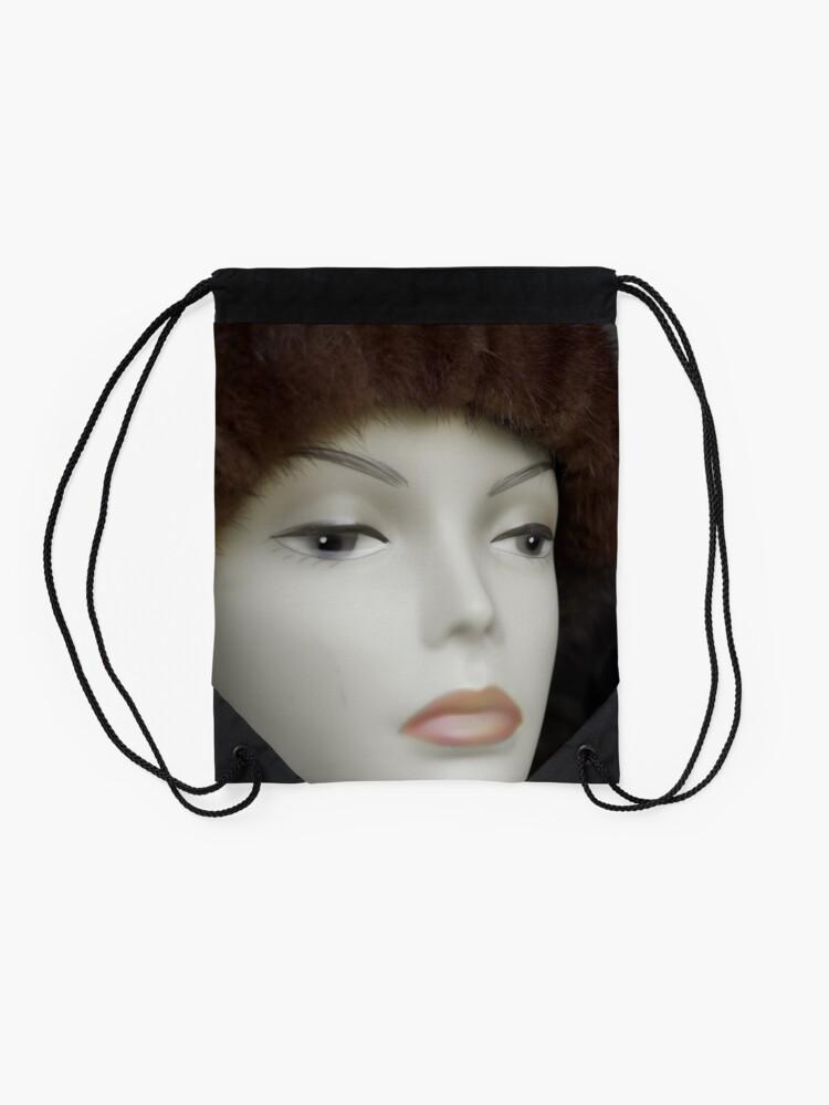 Alternate view of Fashionista Drawstring Bag