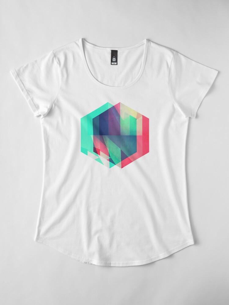 Alternate view of hyx^gyn Premium Scoop T-Shirt