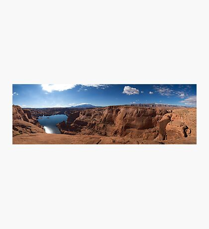 At the End of Hole-in-the-Rock Road. Utah Photographic Print