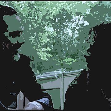 Rick and Negan by Ribcage25