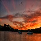 Blessing - Newport NSW Sunset by Philip Johnson