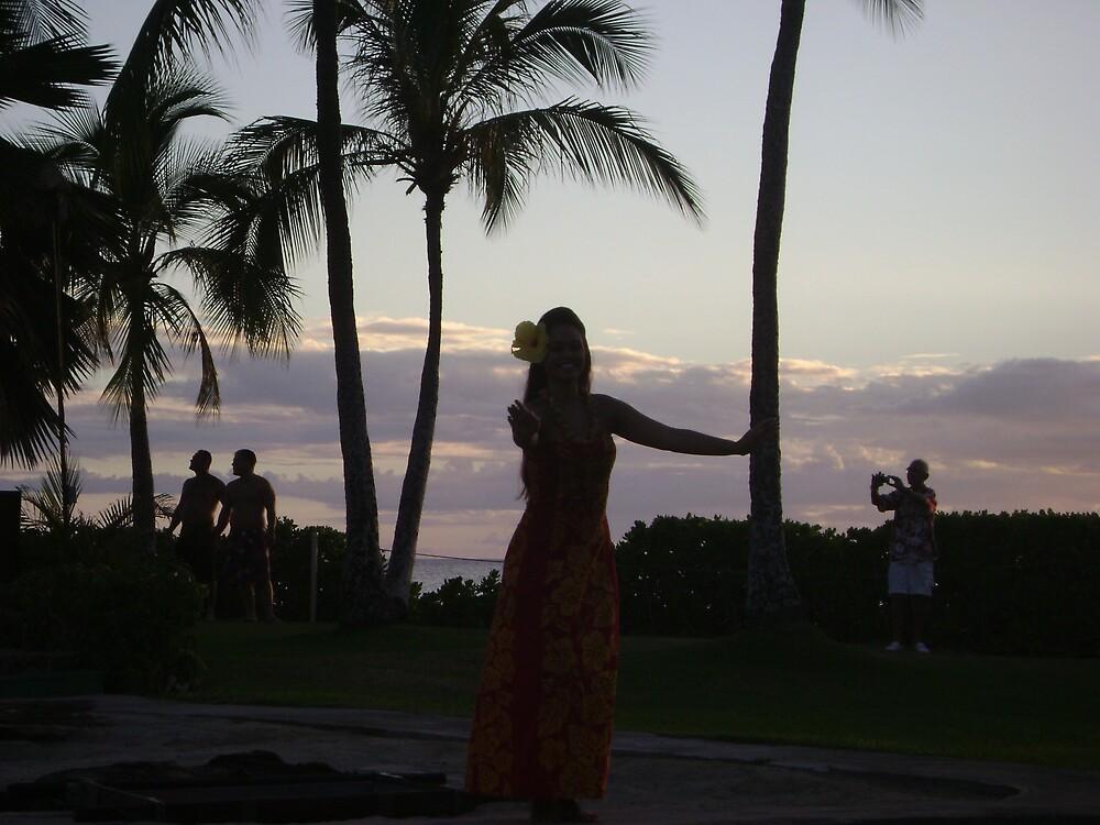 The dark hawaiian hula by Amateur19