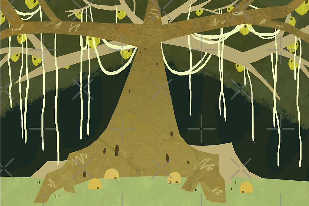 Banyan Tree by Rosemary Black