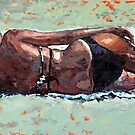 The Sunbather III by Claire McCall