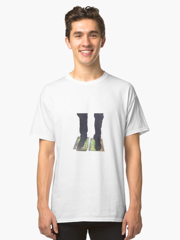 Burger King Foot Lettuce Meme Classic T Shirt Front