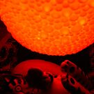 cat + orange bubble by suelucat