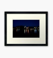 Exotic Cityscape Framed Print