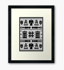 Doctor Who Framed Print