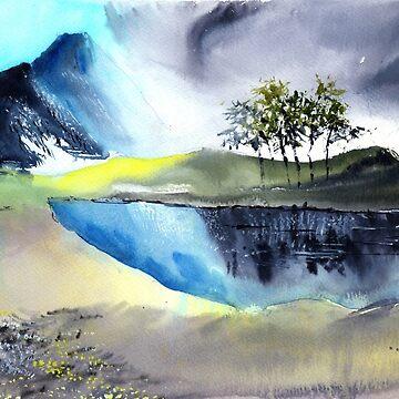 Mountain Lake by arnene