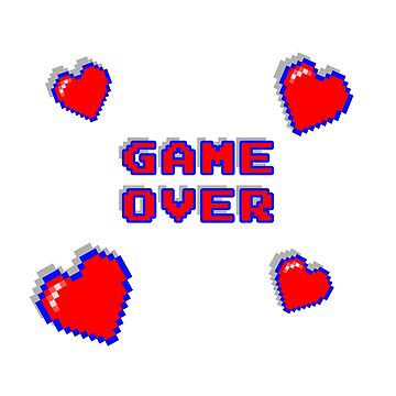 Game Over Valentine's dAY Shirt by CreativeRyszka