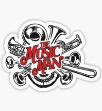 The Music Man Sticker