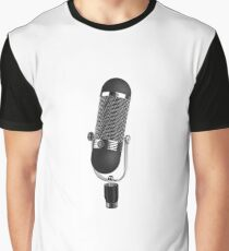 Microphone Singer Musician Graphic T-Shirt