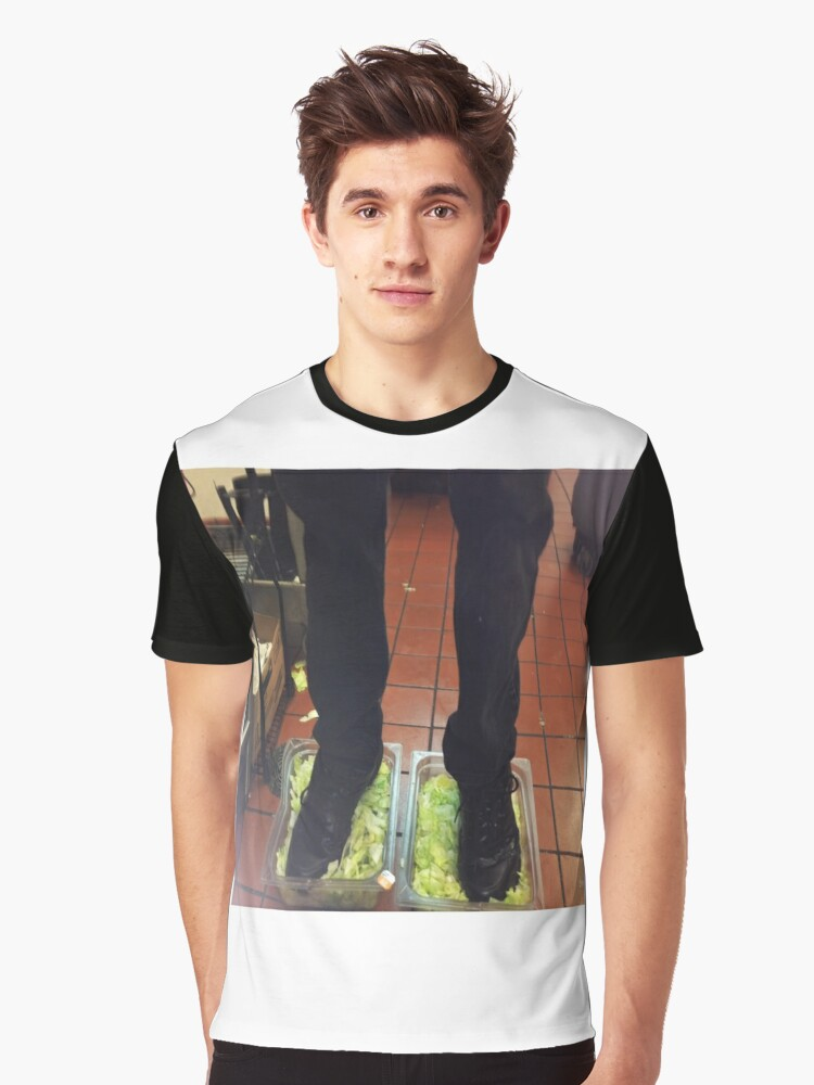 Foot Lettuce Burger King Graphic T Shirt Front