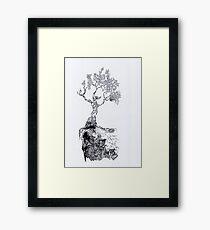 Toppi Tree Framed Print