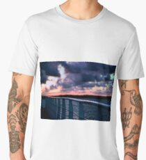 Moreton bay waters in the late afternoon. Men's Premium T-Shirt