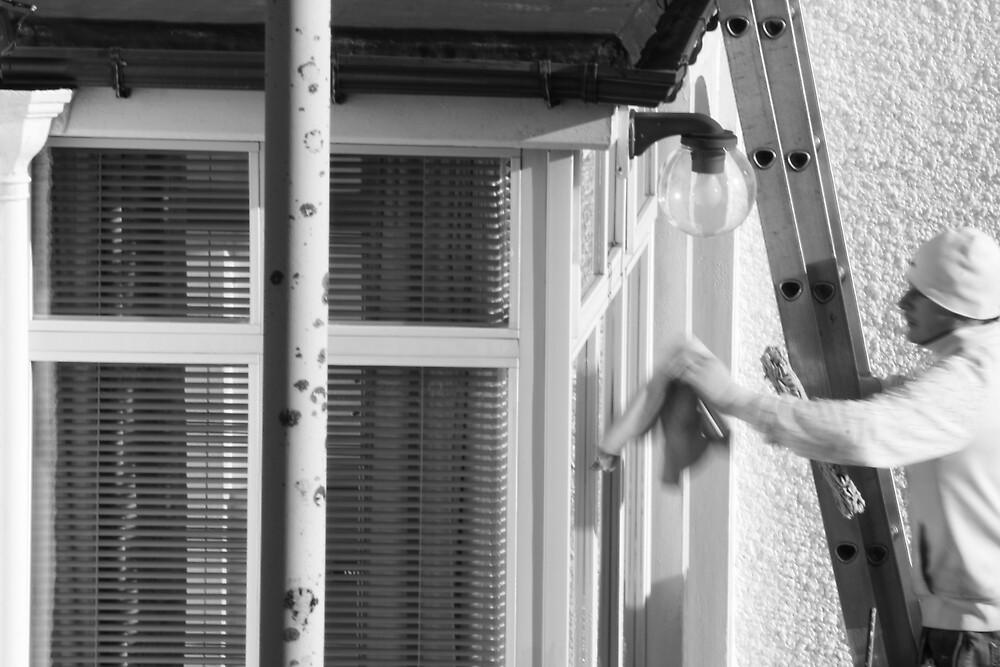 the window cleaner by Sebastian Golden