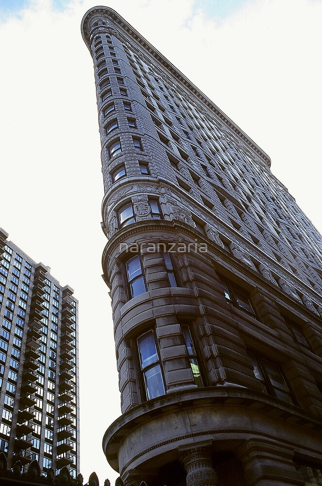 Flatiron building N.Y.C. by naranzaria