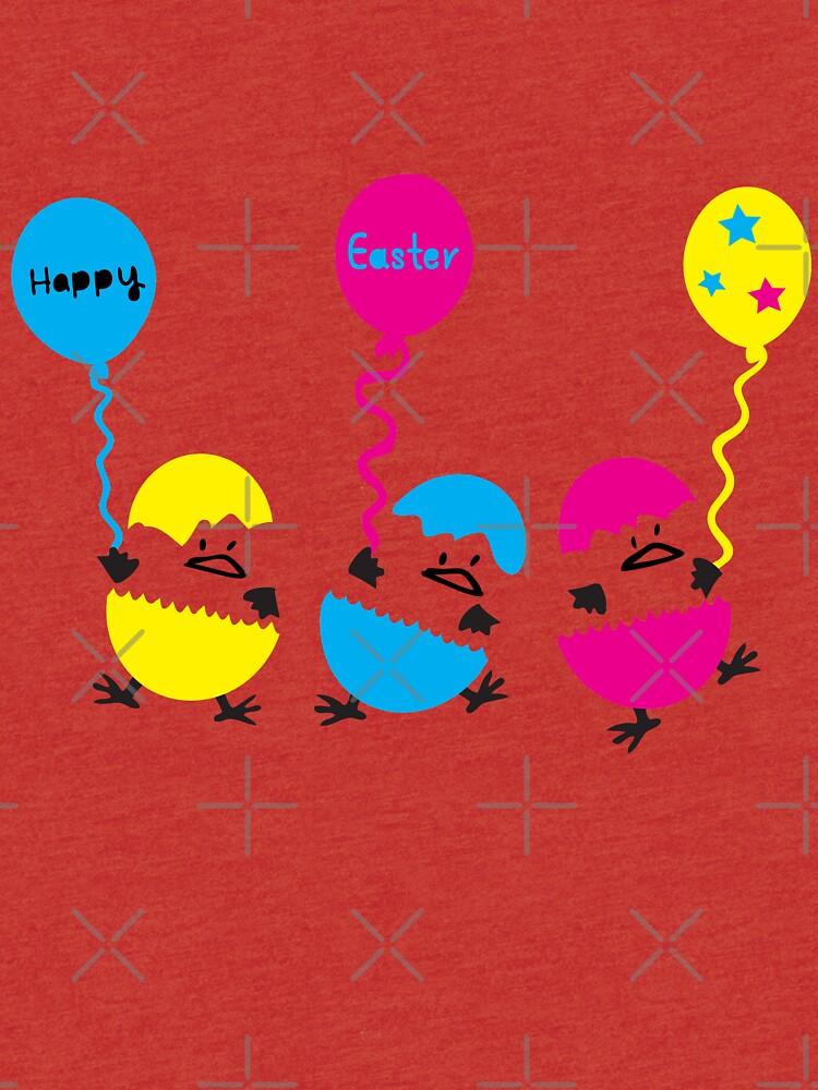 Happy Easter eggs by cheeckymonkey