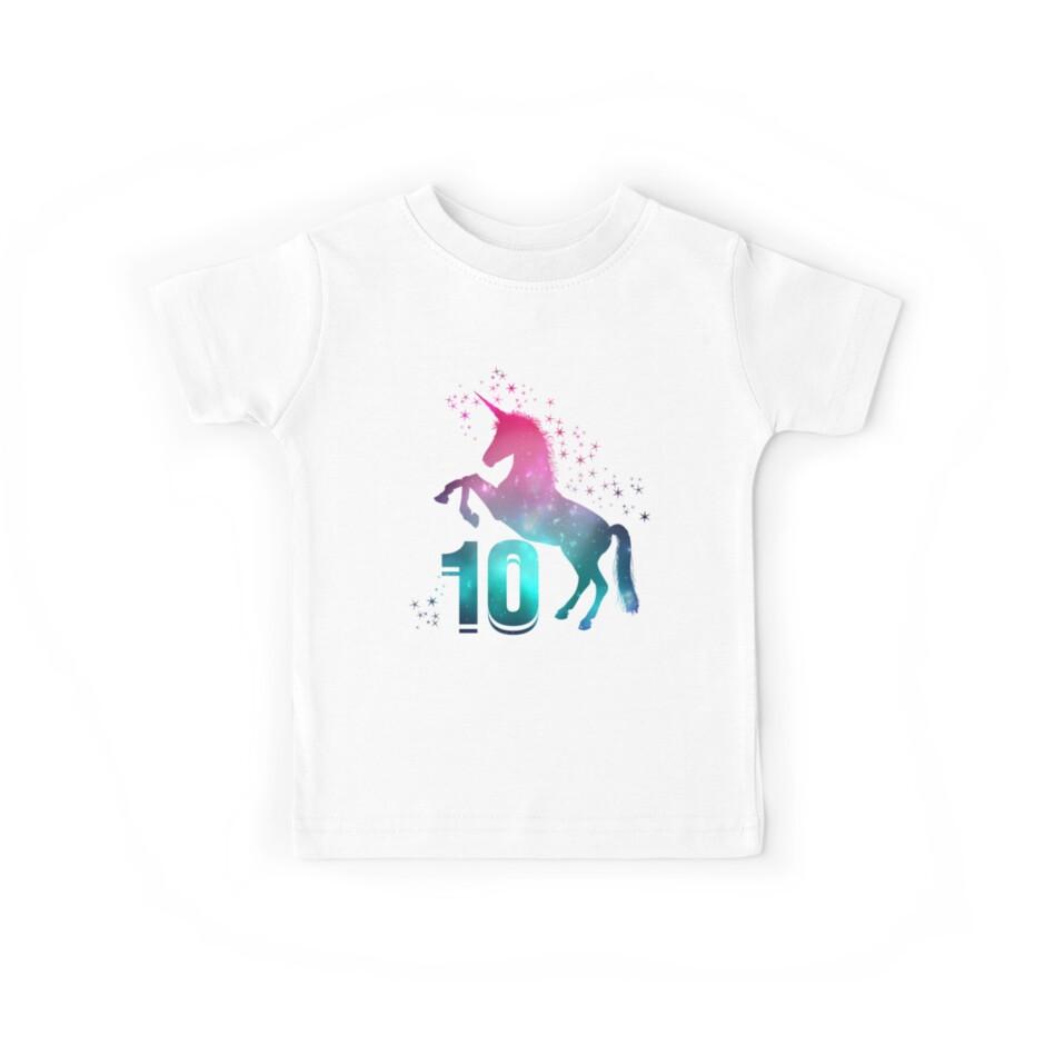 10th Birthday Unicorn by kedsi