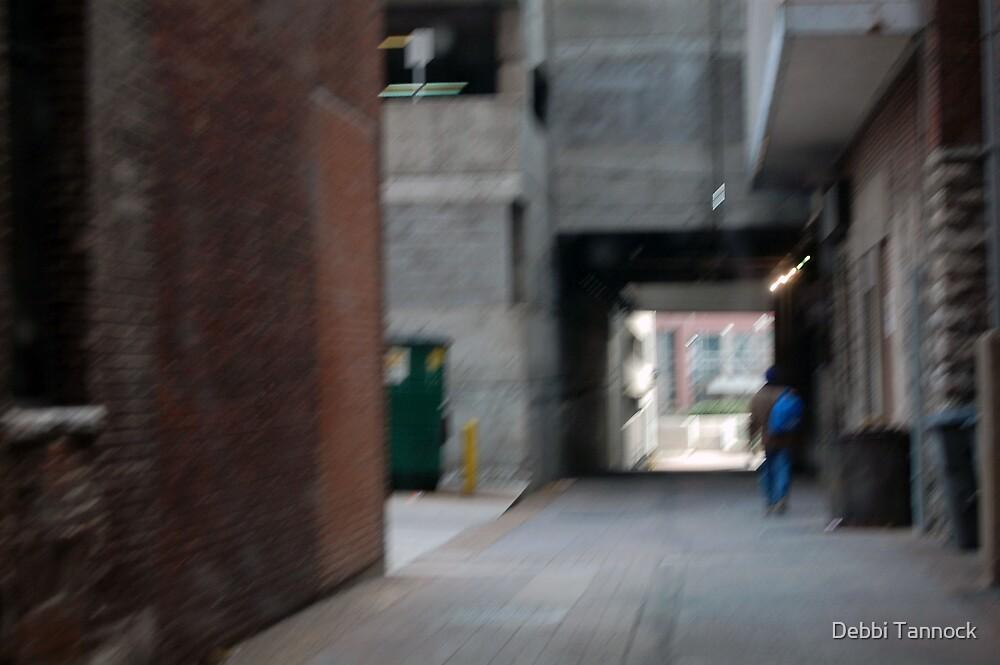 Homeless in Alley by Debbi Tannock