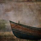 Beached Dinghy by Sarah Vernon