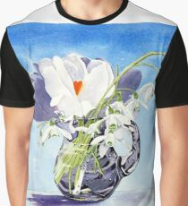 Flowers for Mary Graphic T-Shirt