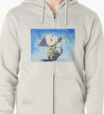 Flowers for Mary Zipped Hoodie
