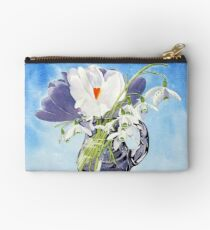Flowers for Mary Studio Pouch
