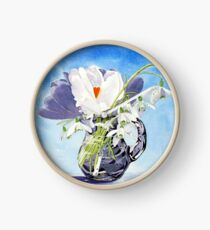 Flowers for Mary Clock