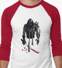 Cyborg Ninja Camiseta ¾ bicolor para hombre