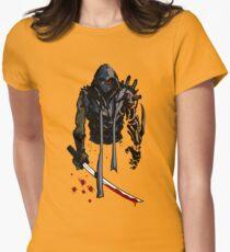 Cyborg Ninja Camiseta entallada para mujer